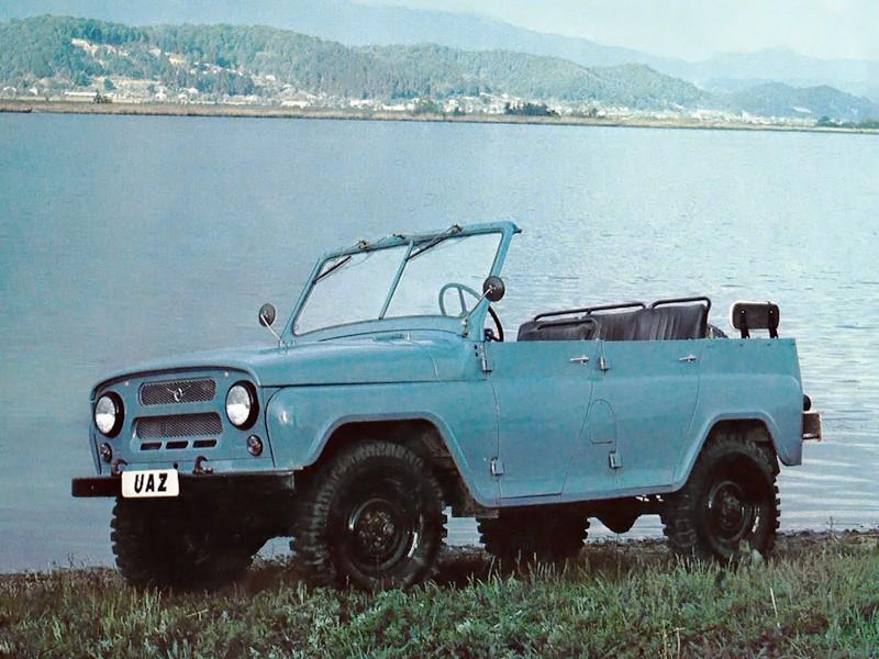 Уаз 469 кабриолет, 1 поколение - отзывы, фото и характеристики на Car.ru