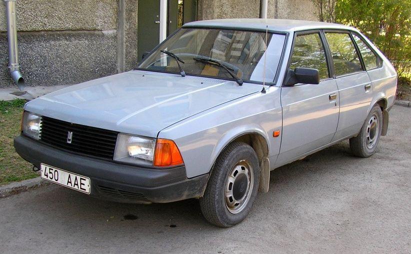 Москвич 2141 хетчбэк, 1986–2002, 1 поколение - отзывы, фото и характеристики на Car.ru