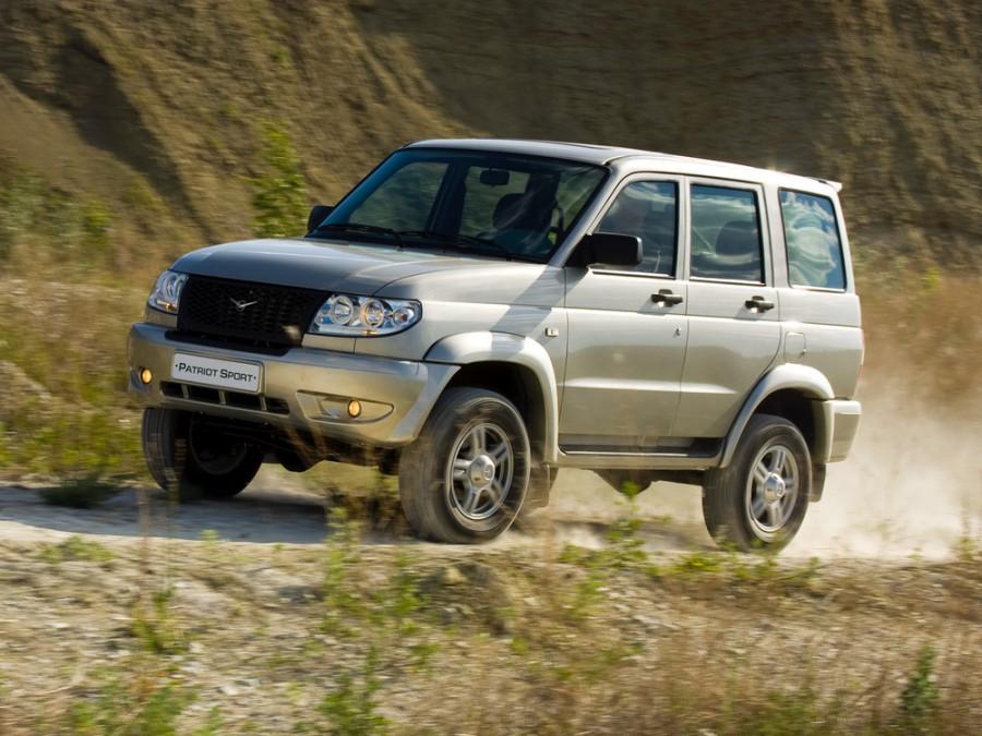 Уаз Patriot Sport внедорожник 5-дв., 2005–2012, 1 поколение - отзывы, фото и характеристики на Car.ru