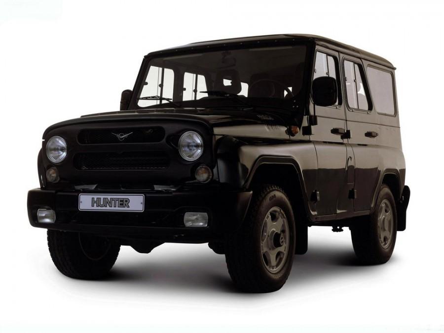 Уаз Hunter внедорожник, 2003–2016, 1 поколение - отзывы, фото и характеристики на Car.ru