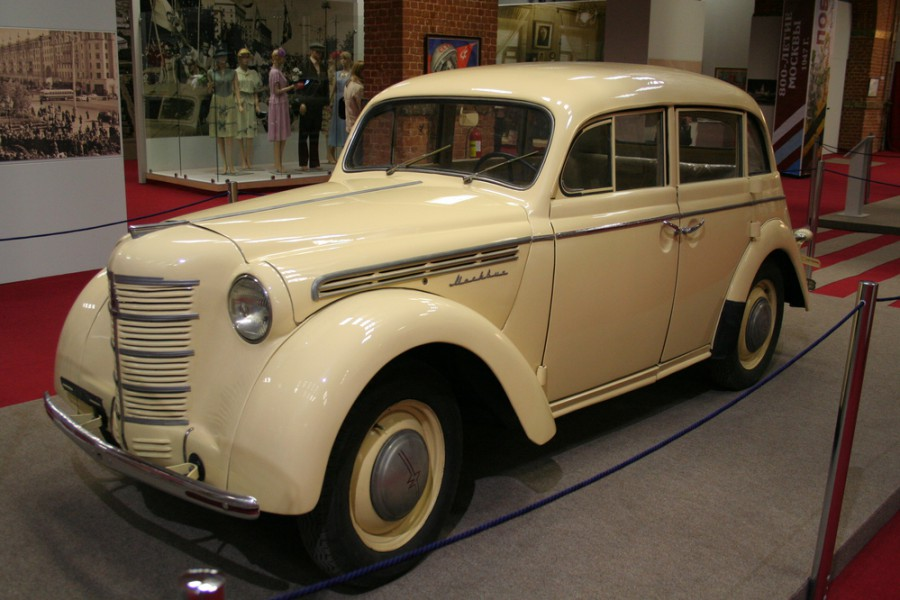 Москвич 400 седан, 1946–1954, 1 поколение - отзывы, фото и характеристики на Car.ru