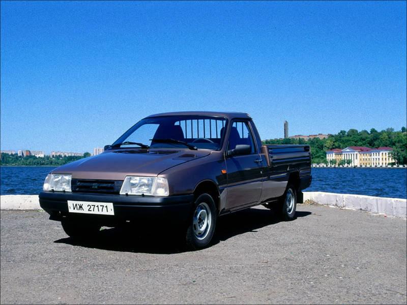 Иж 2717 пикап, 1997–2005, 1 поколение - отзывы, фото и характеристики на Car.ru