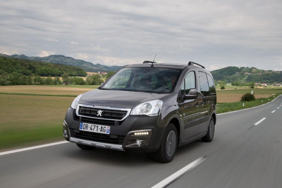 Peugeot Partner Tepee минивэн, 2015–2016, 2 поколение [2-й рестайлинг] - отзывы, фото и характеристики на Car.ru