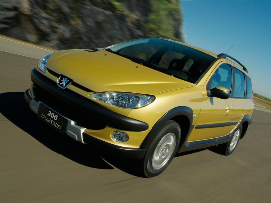 Peugeot 206 Escapade универсал 5-дв., 2002–2009, 1 поколение [рестайлинг] - отзывы, фото и характеристики на Car.ru