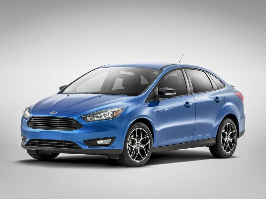 Ford Focus седан, 2014–2016, 3 поколение [рестайлинг] - отзывы, фото и характеристики на Car.ru