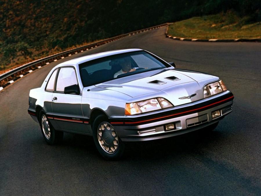 Ford Thunderbird Turbo Coupe купе 2-дв., 1987–1988, 9 поколение [рестайлинг] - отзывы, фото и характеристики на Car.ru