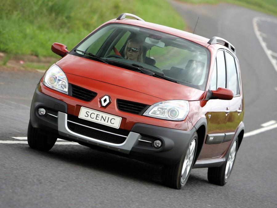 Renault Scenic Navigator минивэн 5-дв., 2006–2010, 2 поколение [рестайлинг] - отзывы, фото и характеристики на Car.ru