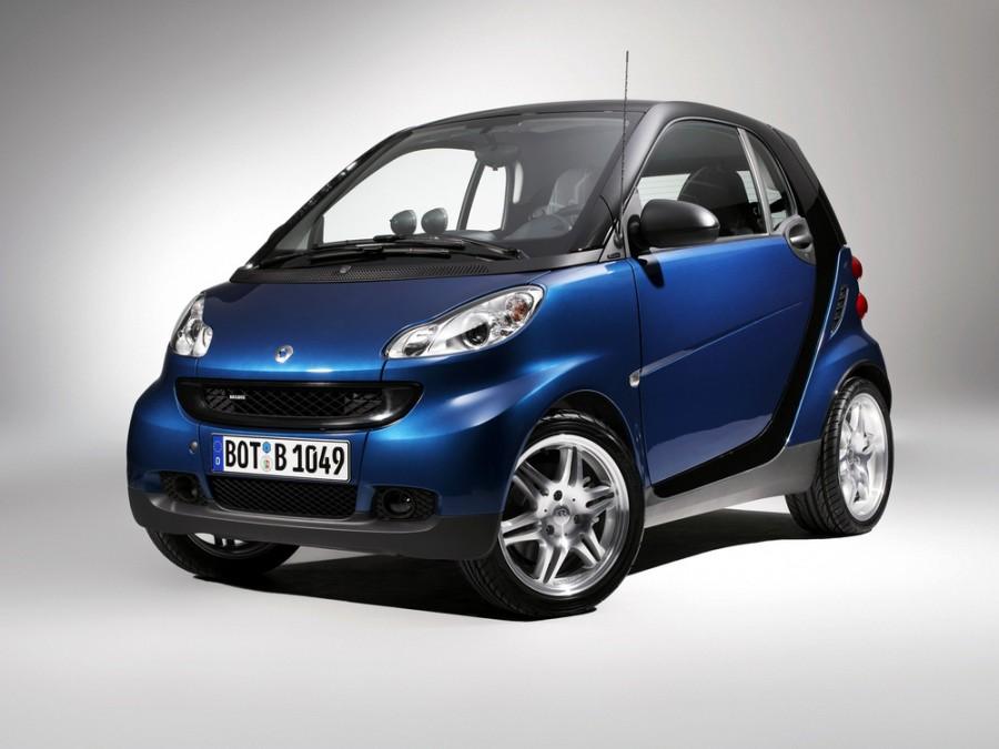 Smart Fortwo Brabus хетчбэк 3-дв., 2007–2010, 2 поколение - отзывы, фото и характеристики на Car.ru