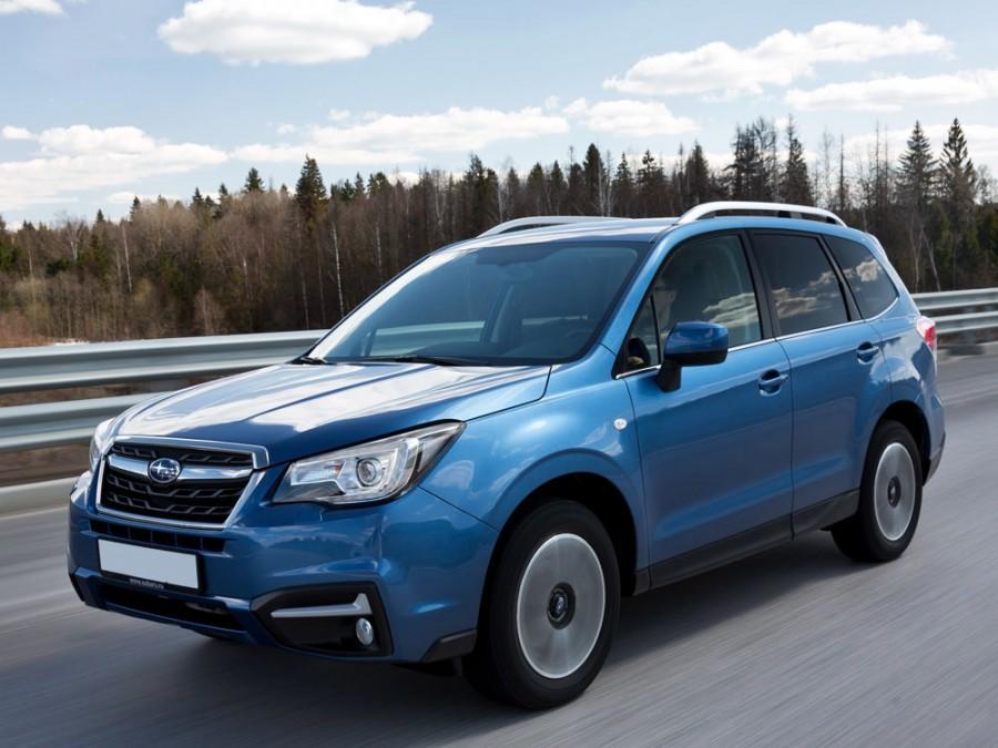 Subaru Forester кроссовер, 2016–2016, 4 поколение [рестайлинг] - отзывы, фото и характеристики на Car.ru
