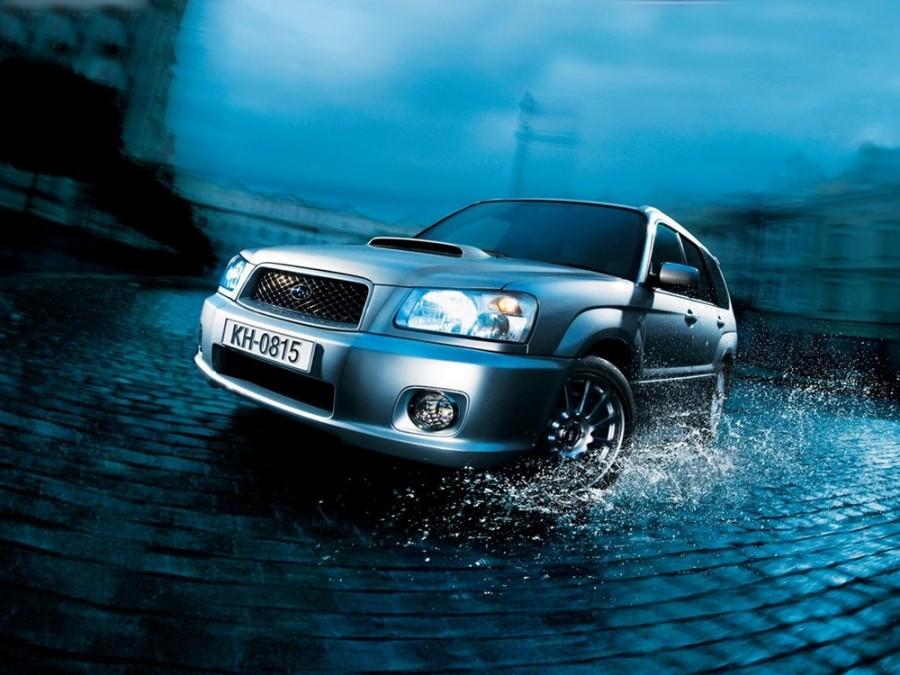 Subaru Forester Cross Sports кроссовер 5-дв., 2003–2005, 2 поколение - отзывы, фото и характеристики на Car.ru