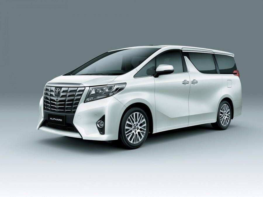 Toyota Alphard минивэн, 2015–2016, 3 поколение - отзывы, фото и характеристики на Car.ru