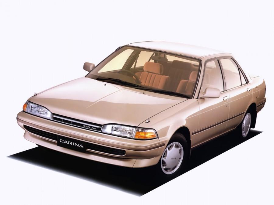 Toyota Carina JDM седан 4-дв., 1988–1992, T170 - отзывы, фото и характеристики на Car.ru