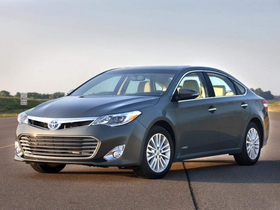 Toyota Avalon Hybrid седан 4-дв., 2012–2016, XX40 - отзывы, фото и характеристики на Car.ru