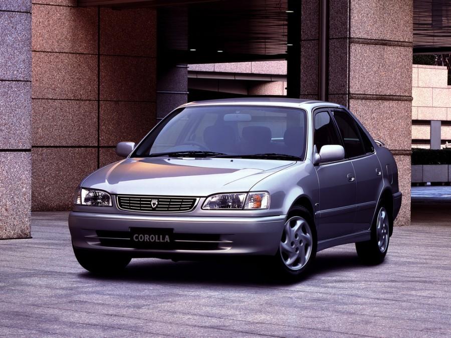 Toyota Corolla JDM седан 4-дв., 1997–2002, E110 [рестайлинг] - отзывы, фото и характеристики на Car.ru