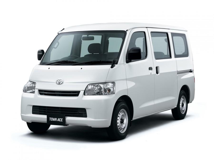 Toyota Town Ace Van микроавтобус, 2008–2016, 5 поколение - отзывы, фото и характеристики на Car.ru