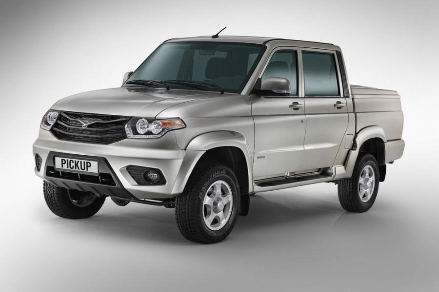 Уаз Pickup пикап, 2014–2016, 2 поколение - отзывы, фото и характеристики на Car.ru