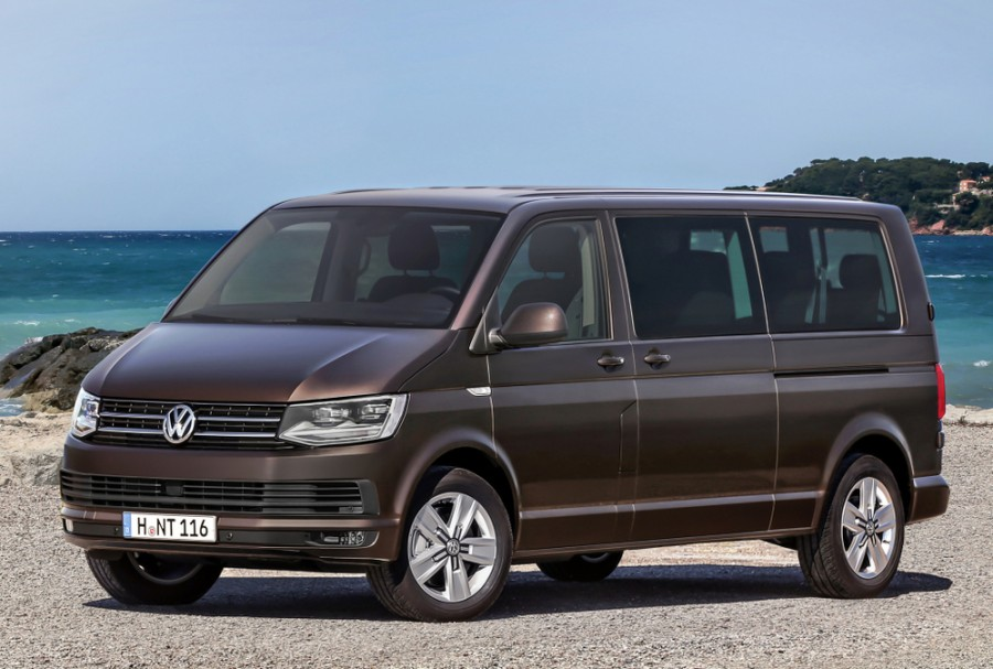Volkswagen Caravelle микроавтобус, 2015–2016, T6 - отзывы, фото и характеристики на Car.ru