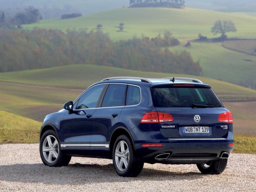 Volkswagen Touareg кроссовер, 2010–2014, 2 поколение - отзывы, фото и характеристики на Car.ru