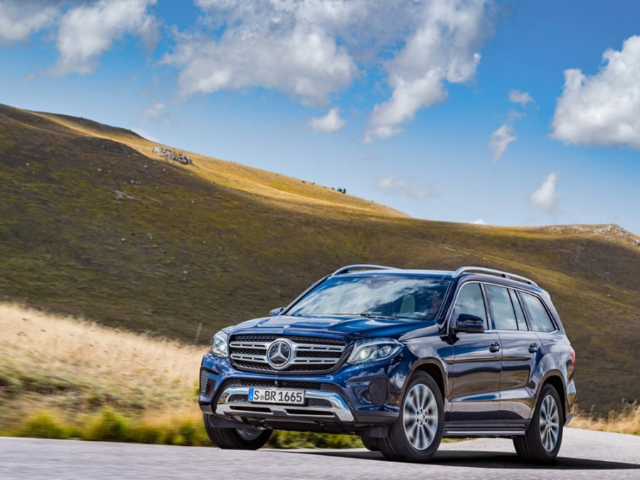 Mercedes GLS-Class внедорожник 5-дв., 2015–2016, X166 - отзывы, фото и характеристики на Car.ru