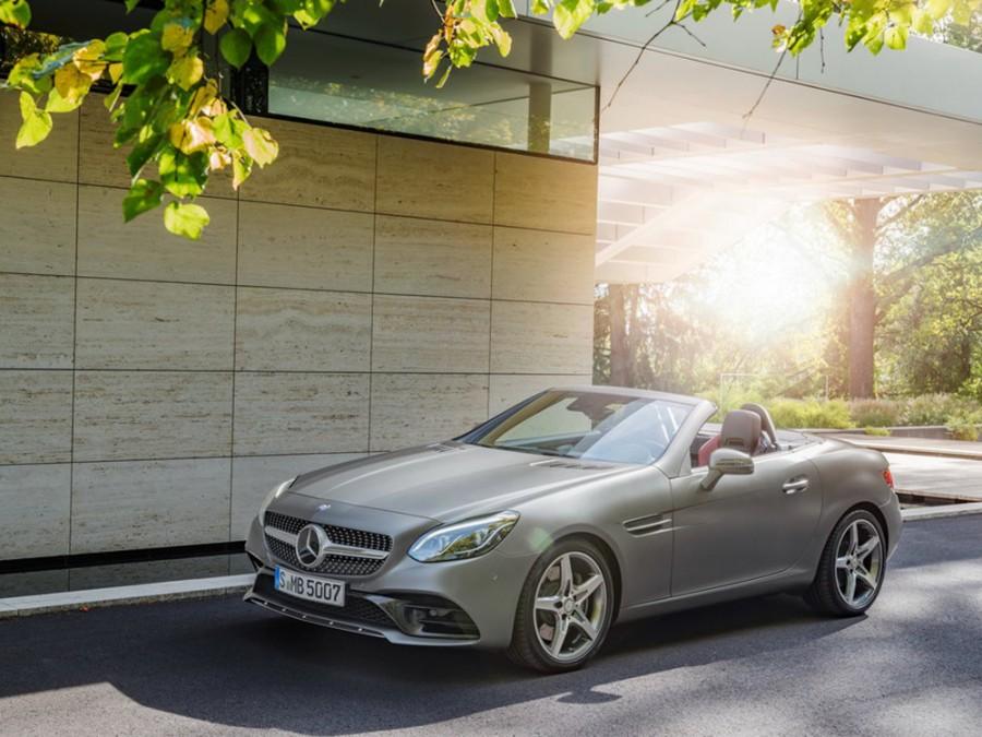 Mercedes SLC-Class родстер 2-дв., 2015–2016, R172 - отзывы, фото и характеристики на Car.ru