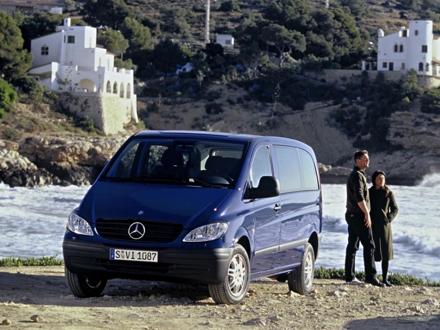 Mercedes Vito микроавтобус 4-дв., 2003–2010, W639 - отзывы, фото и характеристики на Car.ru