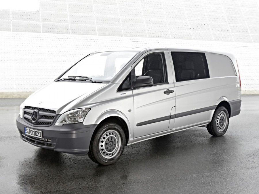 Mercedes Vito Mixto микроавтобус 4-дв., 2010–2015, W639 [рестайлинг] - отзывы, фото и характеристики на Car.ru