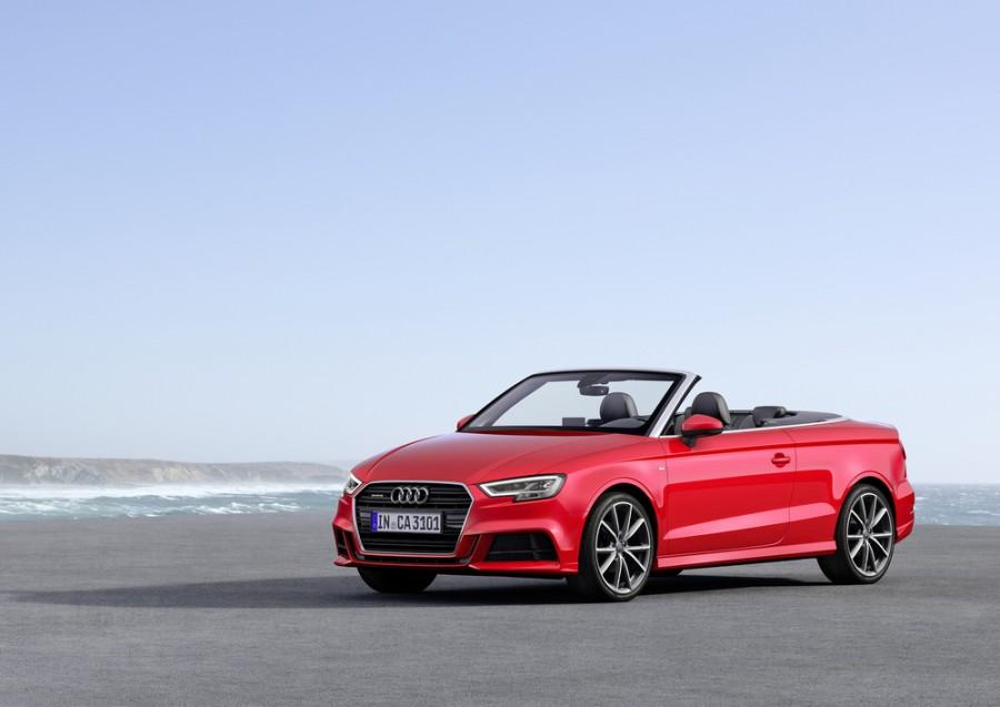 Audi A3 кабриолет, 8V [рестайлинг] - отзывы, фото и характеристики на Car.ru