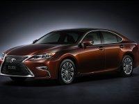 Lexus ES, 6 поколение [рестайлинг], Седан, 2015–2016