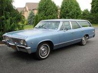 Chevrolet Chevelle, 1 поколение [3-й рестайлинг], Station wagon универсал 5-дв., 1967