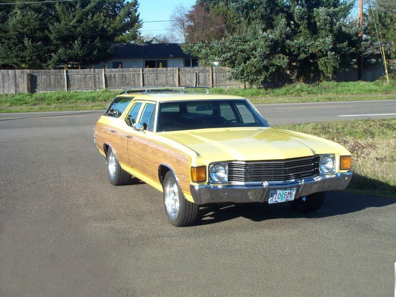 Chevrolet Chevelle Concours Estate Wagon универсал 5-дв., 1972, 2 поколение [4-й рестайлинг] - отзывы, фото и характеристики на Car.ru
