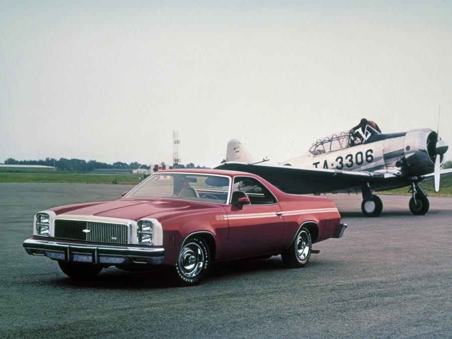 Chevrolet El Camino Classic пикап 2-дв., 1977, 4 поколение [4-й рестайлинг] - отзывы, фото и характеристики на Car.ru