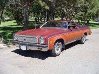 Chevrolet El Camino, 4 поколение [3-й рестайлинг], Classic пикап 2-дв., 1976
