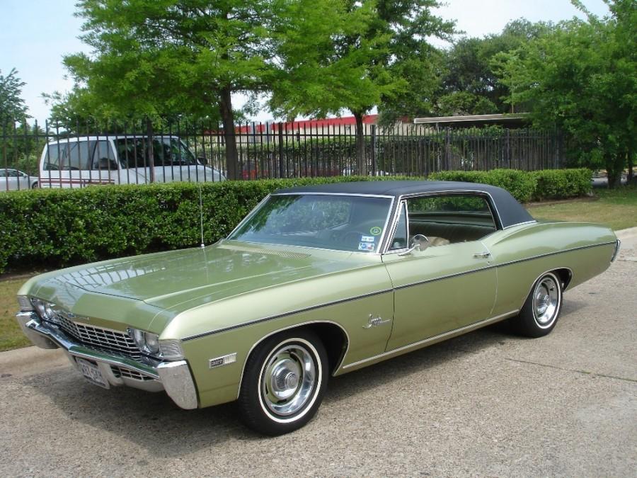 Chevrolet Impala Custom купе 2-дв., 1968, 4 поколение [3-й рестайлинг] - отзывы, фото и характеристики на Car.ru