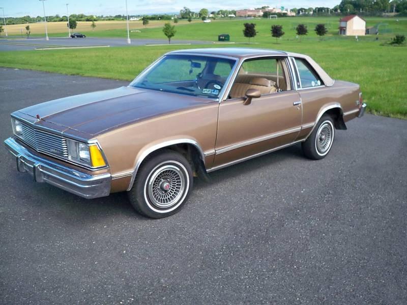 Chevrolet Malibu Classic купе 2-дв., 1981, 1 поколение [3-й рестайлинг] - отзывы, фото и характеристики на Car.ru