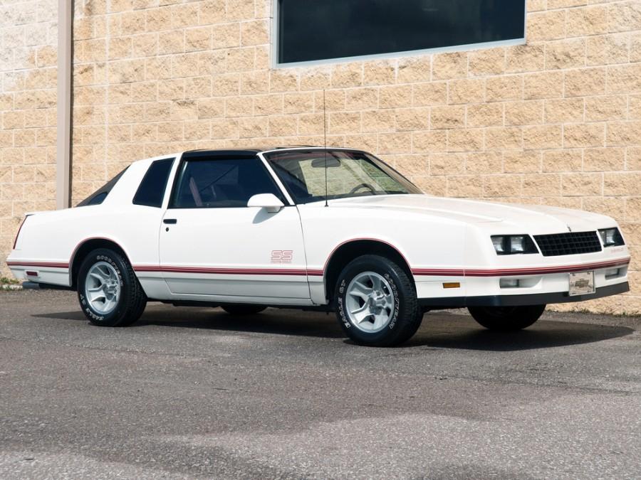 Chevrolet Monte Carlo SS Aerocoupe тарга 2-дв., 1986–1988, 4 поколение [3-й рестайлинг] - отзывы, фото и характеристики на Car.ru