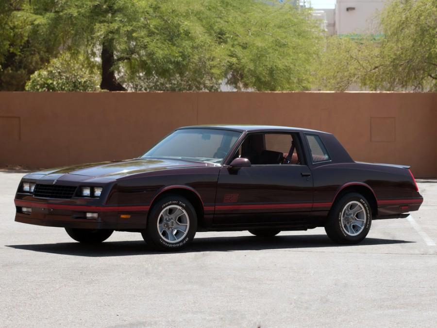 Chevrolet Monte Carlo SS купе 2-дв., 1986–1988, 4 поколение [3-й рестайлинг] - отзывы, фото и характеристики на Car.ru