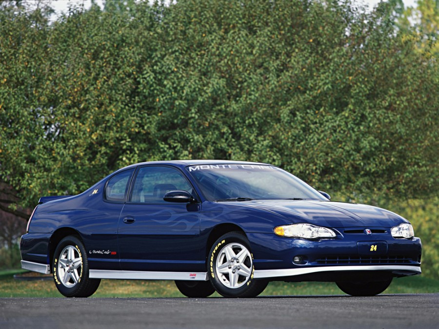 Chevrolet Monte Carlo SS Jeff Gordon Signature Edition купе 2-дв., 2000–2005, 6 поколение - отзывы, фото и характеристики на Car.ru