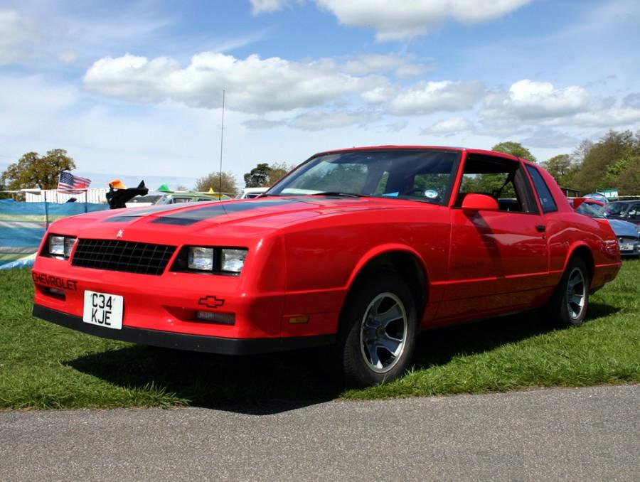 Chevrolet Monte Carlo SS тарга 2-дв., 1986–1988, 4 поколение [3-й рестайлинг] - отзывы, фото и характеристики на Car.ru