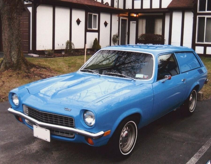 Chevrolet Vega Panel Express универсал 3-дв., 1970–1973, 1 поколение - отзывы, фото и характеристики на Car.ru