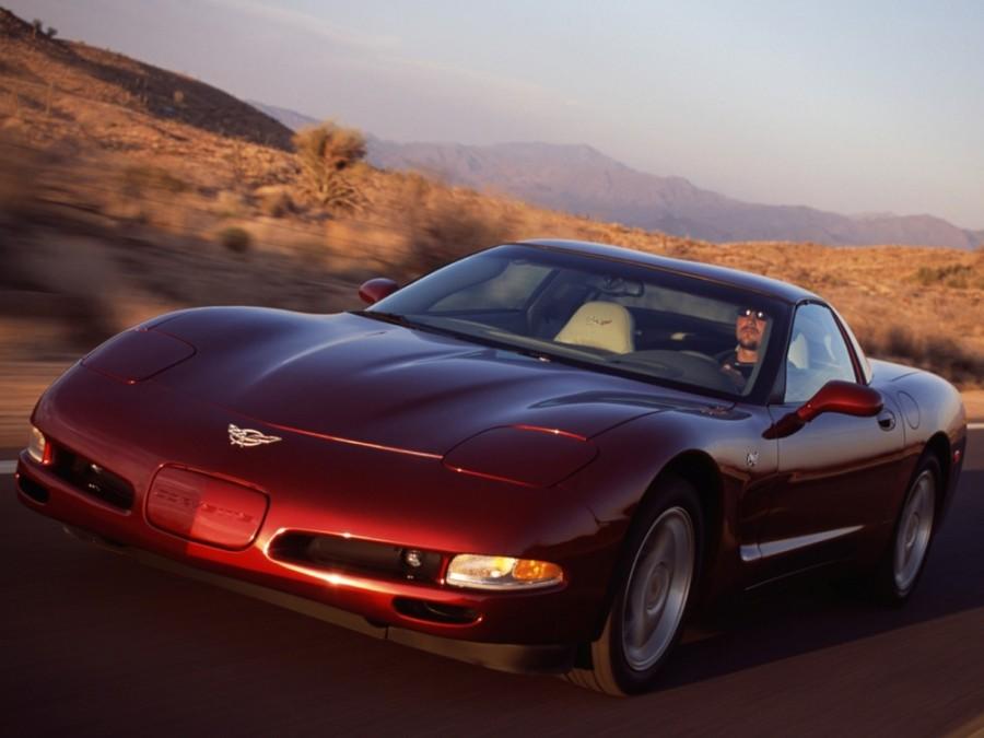 Chevrolet Corvette 50th Anniversary купе 2-дв., 1997–2004, C5 - отзывы, фото и характеристики на Car.ru