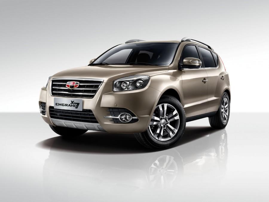 Geely Emgrand X7 кроссовер, 2015–2016, 1 поколение [рестайлинг] - отзывы, фото и характеристики на Car.ru