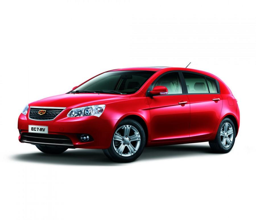 Geely Emgrand EC7 хетчбэк, 2010–2016, 1 поколение - отзывы, фото и характеристики на Car.ru