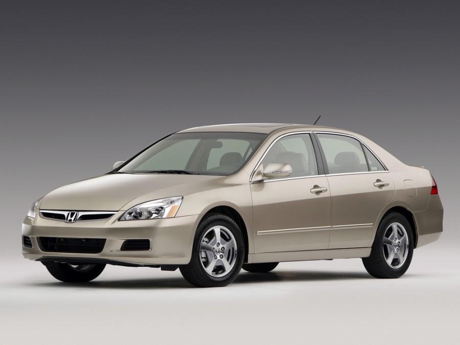 Honda Accord US-spec седан 4-дв., 2006–2008, 7 поколение [рестайлинг] - отзывы, фото и характеристики на Car.ru