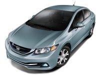 Honda Civic, 9 поколение [рестайлинг], Hybrid седан 4-дв., 2013–2018