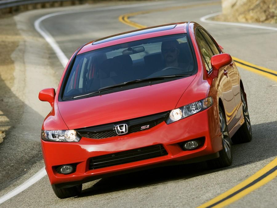 Honda Civic Si седан 4-дв., 2007–2011, 8 поколение [рестайлинг] - отзывы, фото и характеристики на Car.ru