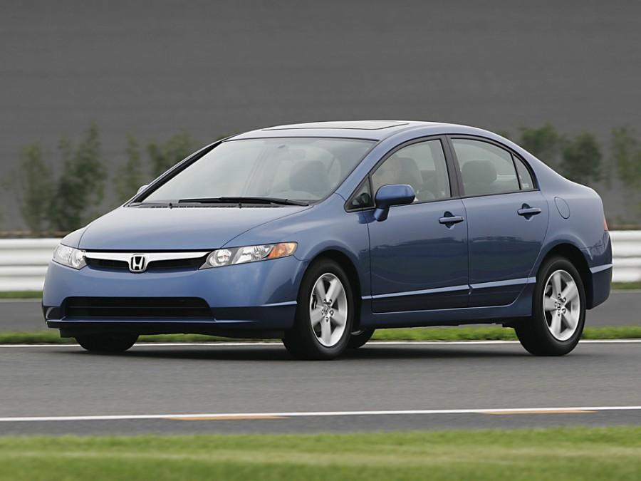 Honda Civic US-spec седан 4-дв., 2005–2008, 8 поколение - отзывы, фото и характеристики на Car.ru