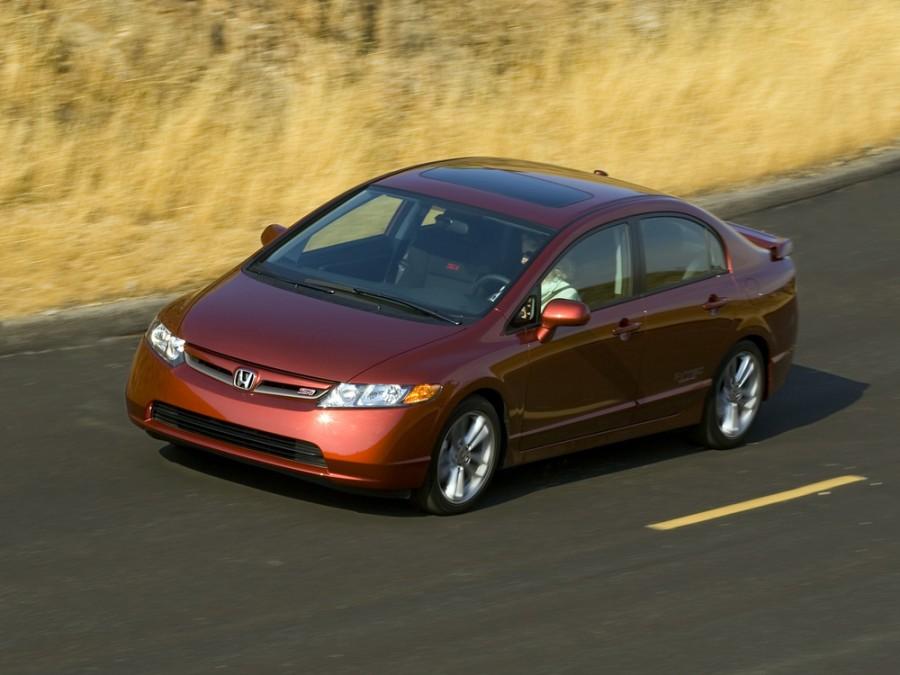 Honda Civic Si седан 4-дв., 2005–2008, 8 поколение - отзывы, фото и характеристики на Car.ru