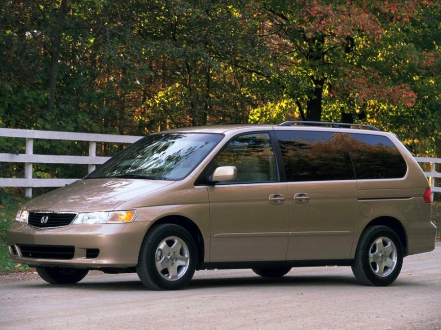 Honda Odyssey US-spec минивэн 5-дв., 1998–2003, 2 поколение - отзывы, фото и характеристики на Car.ru