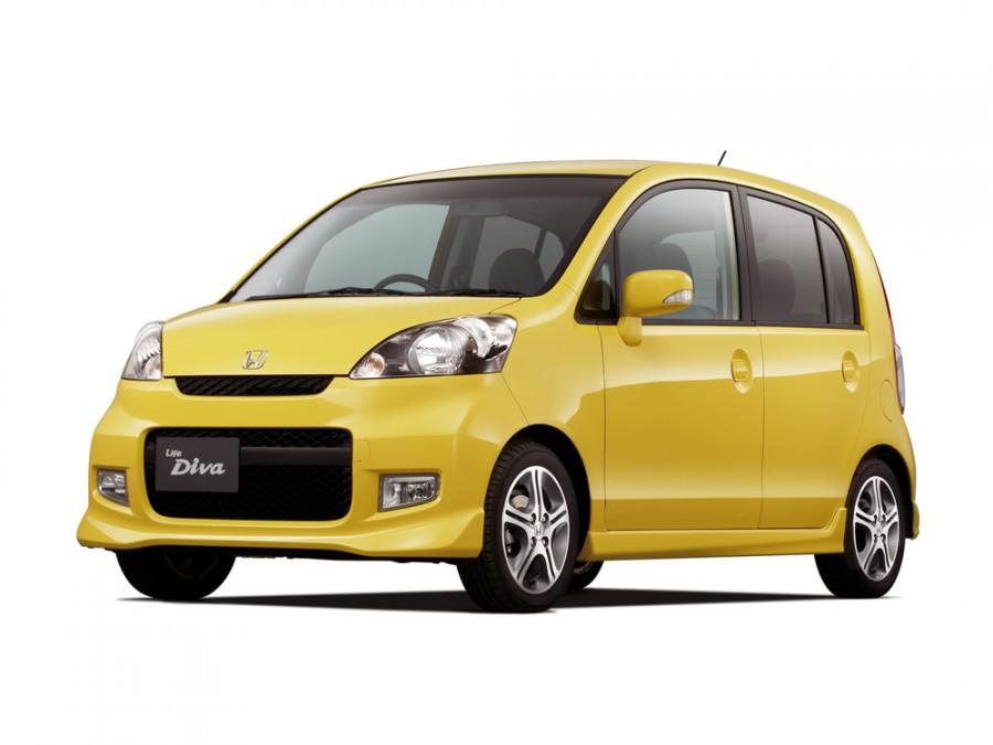 Honda Life Diva хетчбэк 5-дв., 2006–2008, 4 поколение [рестайлинг] - отзывы, фото и характеристики на Car.ru