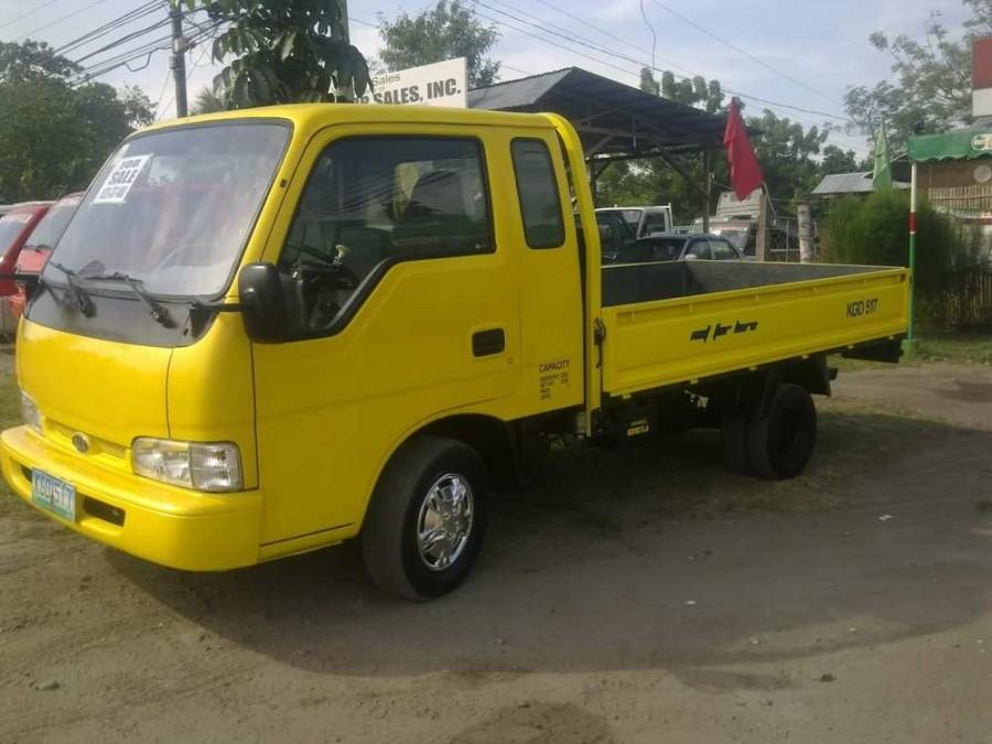 Kia Bongo Super Cab борт 2-дв., 1997–2000, Frontier, 2.7 D MT (83 л.с.), характеристики